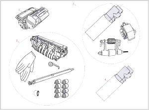 ΓΝΗΣΙΟ HEWLETT PACKARD MAINTENANCE KIT ME OEM : Q5999-67902