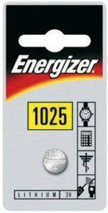 ΜΠΑΤΑΡΙΑ ENERGIZER BUTTON CELLS CR1025 1ΤΕΜ