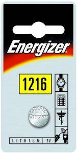 ΜΠΑΤΑΡΙΑ ENERGIZER BUTTON CELLS CR1216 1ΤΕΜ