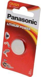 ΜΠΑΤΑΡΙΑ PANASONIC LITHIUM BUTTON CELLS CR2025 1TEM