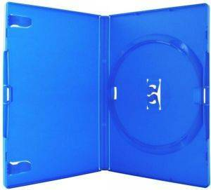 DVDBOX 1 DVD AMARAY BLUE WITH CLIPS 10 ΤΕΜ