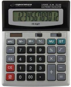 ESPERANZA EULER DESKTOP ELECTRONIC CALCULATOR
