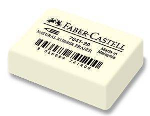 ΓΟΜΑ FABER-CASTELL 7041-20 NATURAL WHITE