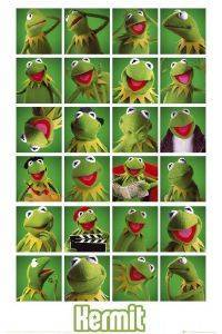 POSTER THE MUPPETS KERMIT COLLAGE 61 X 91.5 CM