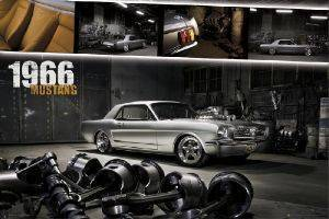 POSTER FORD MUSTANG 1966    61 X 91.5 CM