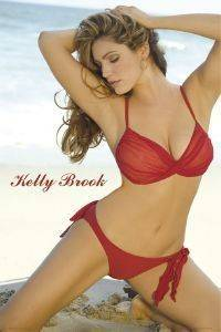POSTER KELLY BROOK 61 X 91.5 CM
