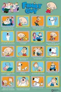 POSTER FAMILY GUY - QUOTES 61 X 91.5 CM