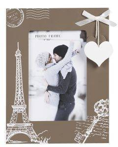 ΚΟΡΝΙΖΑ  PHOTO FRAMES PARIS MDF 10X15CM