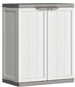 ΝΤΟΥΛΑΠΑ KETER KIS JOLLY LOW CABINET ΛΕΥΚΟ 68X39X85H