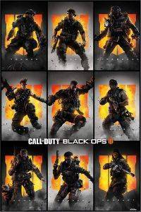 POSTER CALL OF DUTY BLACK OPS 4 CHARACTERS (61 X 91.5 CM)