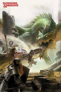 POSTER DUNGEONS & DRAGONS 61 X 91.5 CM