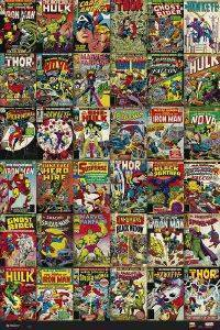 POSTER MARVEL COVER-CLASSIC  61 X 91.5 CM