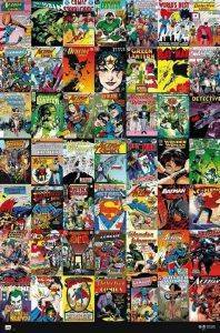 POSTER COMIC COVERS  61 X 91.5 CM