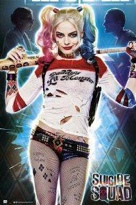 POSTER  SUICIDE SQUAD HARLEY QUINN 61 X 91.5 CM