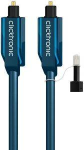 CLICKTRONIC HC302 TOSLINK CABLE 2M CASUAL