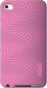 ILUV ICC613 MOXIE SOFT PATTERNED SILICONE CASE FOR IPOD TOUCH 5 PINK