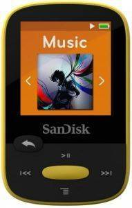 SANDISK CLIP SPORT 4GB MP3 PLAYER YELLOW