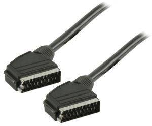VALUELINE VLVP31000B0.50 SCART CABLE M/M 0.5M BLACK