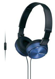 SONY MDR-ZX310APL HEADPHONES BLUE