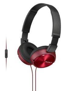SONY MDR-ZX310APR HEADPHONES RED