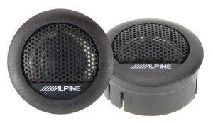 ALPINE SXE-1006TW 280W/45W RMS DOME TWEETER