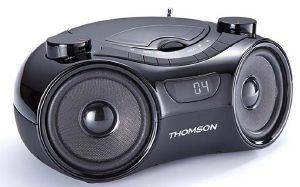 THOMSON RCD210U PORTABLE CD/MP3/RADIO BLACK