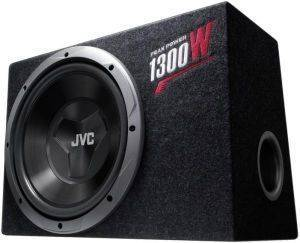 JVC CS-BW120 30CM BOX SUBWOOFER 1300W PEAK/150W RMS