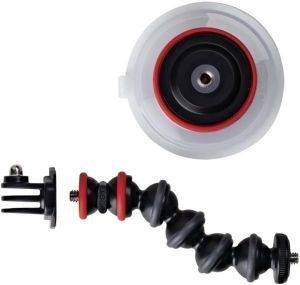 JOBY JB01329 SUCTION CUP & GORILLAPOD ARM WITH GOPRO ADAPTER