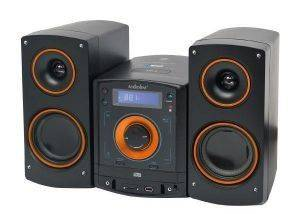 MICRO HIFI AUDIOLINE CD-50 CD MP3 USB BLUETOOTH NFC ΜΑΥΡΟ/ΠΟΡΤΟΚΑΛΙ