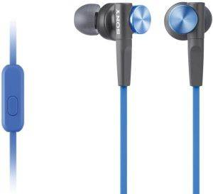 SONY MDR-XB50APL EXTRA BASS HEADSET BLUE