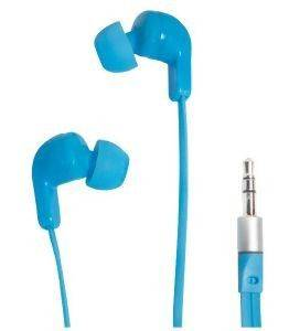 LOGILINK HS0039 IN-EAR STEREO EARPHONE 3.5MM WITH 2 SETS EAR BUDS BLUE