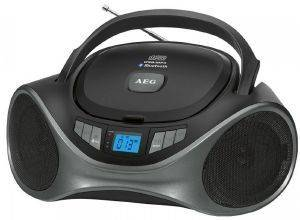 AEG SR 4375 BLUETOOTH STEREO RADIO WITH CD/MP3/USB/AUX-IN