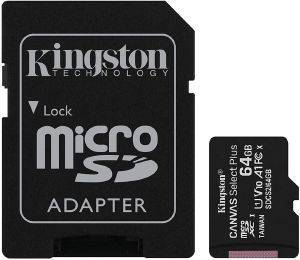 PATRIOT PSF16GMCSDHC10 LX SERIES 16GB MICRO SDHC CLASS 10 + SD ADAPTER