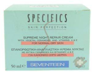 SUPREME NIGHT REPAIR CREAM SEVENTEEN 50ML