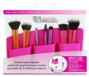 ΘΗΚΗ  REAL TECHNIQUES  3  POCKET PINK EXPERT ORGANIZER
