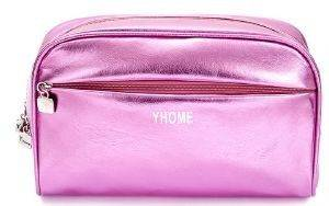 ΝΕΣΕΣΕΡ OEM METALLIC MAKE UP BAG DARK ROSE ΡΟΖ