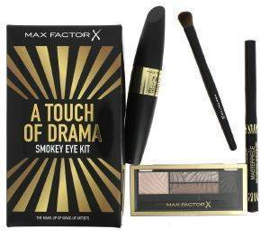 ΣΕΤ ΔΩΡΟΥ MAX FACTOR A TOUCH OF DRAMA SMOKEY EYE KIT 4ΤΜΧ