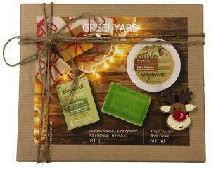 ΣΕΤ ΔΩΡΟΥ GREENYARD NATURALS CHRISTMAS BOX 2ΤΜΧ