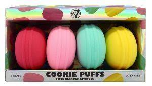 ΣΦΟΥΓΓΑΡΑΚΙΑ W7 COOKIE PUFFS FACE BLENDING SPONGES 4ΤΜΧ