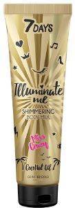 BODY MILK 7 DAYS MISS CRAZY SHIMMERING BODY MILK 150ML
