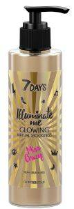 ΚΡΕΜΑ ΣΩΜΑΤΟΣ 7 DAYS MISS CRAZY GLOWING VIRTUAL STOCKINGS 200ML