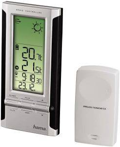 HAMA 104931 EWS-280 ELECTRONIC WEATHER STATION BLACK/SILVER