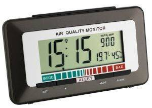 TFA 60252710 RADIO CONTROLLED ALARM CLOCK WITH AIR QUALITY MONITOR