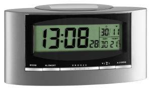 TFA 98.1071 RADIO-CONTROLLED SOLAR-POWERED ALARM CLOCK