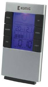 KONIG KN-WS101N LCD CLOCK AND WEATHER STATION
