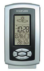 KONIG KN-WS100N THERMO HYGROMETER WEATHER STATION