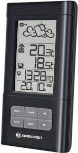 BRESSER TEMEOTREND LB WIRELESS WEATHER STATION BLACK