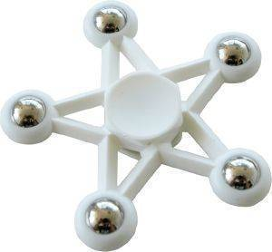 SPINNER FIVE STAR 5 METAL BALL WHITE