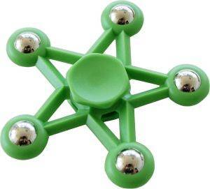 SPINNER FIVE STAR 5 METAL BALL GREEN