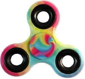 FIDGET SPINNER TOY - RAINBOW